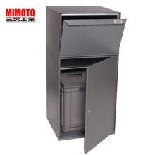 High quality and fashionable wrought iron outdoor parcel mailbox postbox letter box at reasonable prices