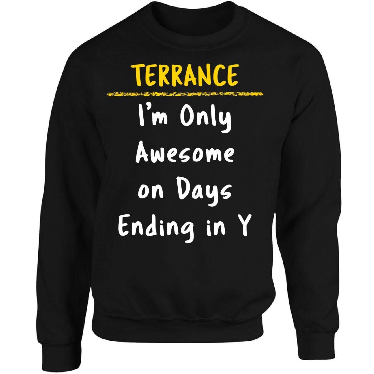 Sierra Goods Terrance Awesome Sarcastic Funny Saying Name Office Gift - Adult Sweatshirt