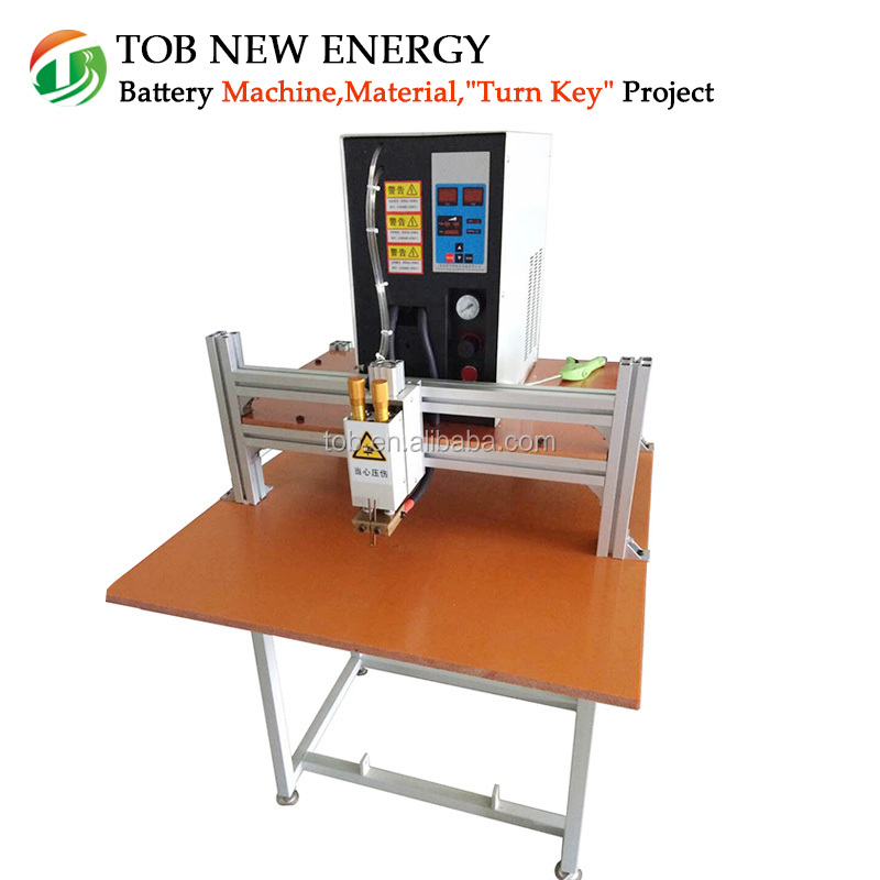 Lithium battery double pulse spot welding machine, spot welder for 18650 battery