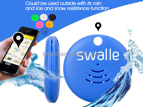 High technology trackr for mobile phone Bluetooth gps key finder anti lost swalle gps tracker pet