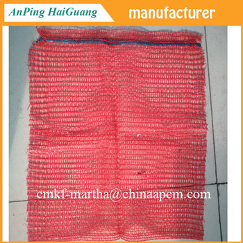 Net Bags For Firewood Logs Plastic 50kg Pe Mesh Bag