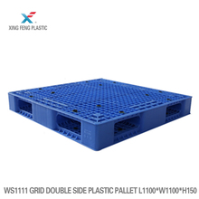 Racking Heavy Duty HDPE Euro Various Sizes double faced grid Plastic Pallet For Transport Logistic Industrial