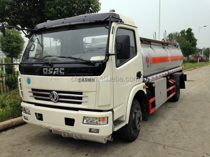 8000 liters DONGFENG refuel tank truck/fueling tank truck/diesel bowser for sale