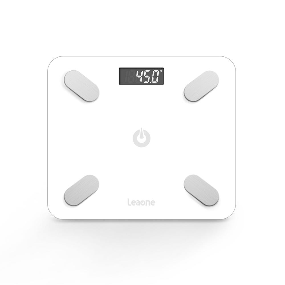 TS-BF8031 New Designed 6MM Tempered Glass Hotselling Cheaper Smart APP Bluetooth Body Fat Scale