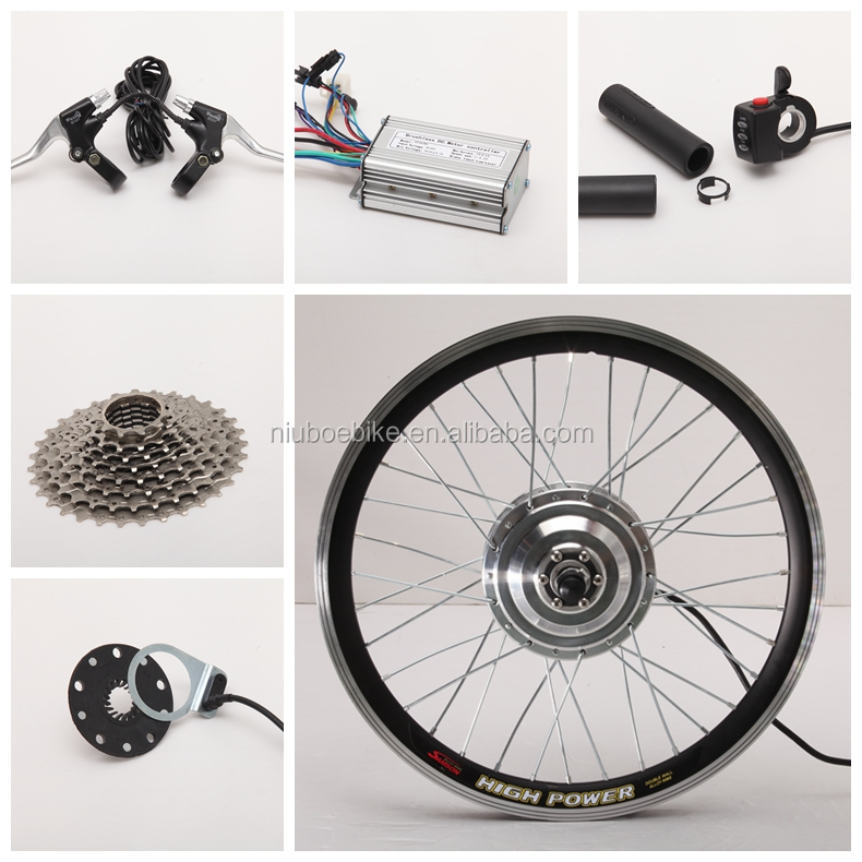 Front/Rear Wheel Electric Bike Kits, bldc Hub Motor Part 36v 250W