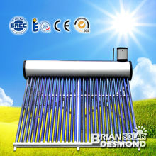 Evacuated Tube Solar Thermal Hot Water