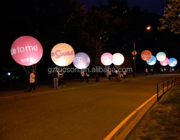 2016 Nieuwe Draadloze Led-verlichting Helium Ballonnen ...