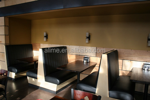 Alime modern restaurant banquette sofa booth   buy restaurant ...