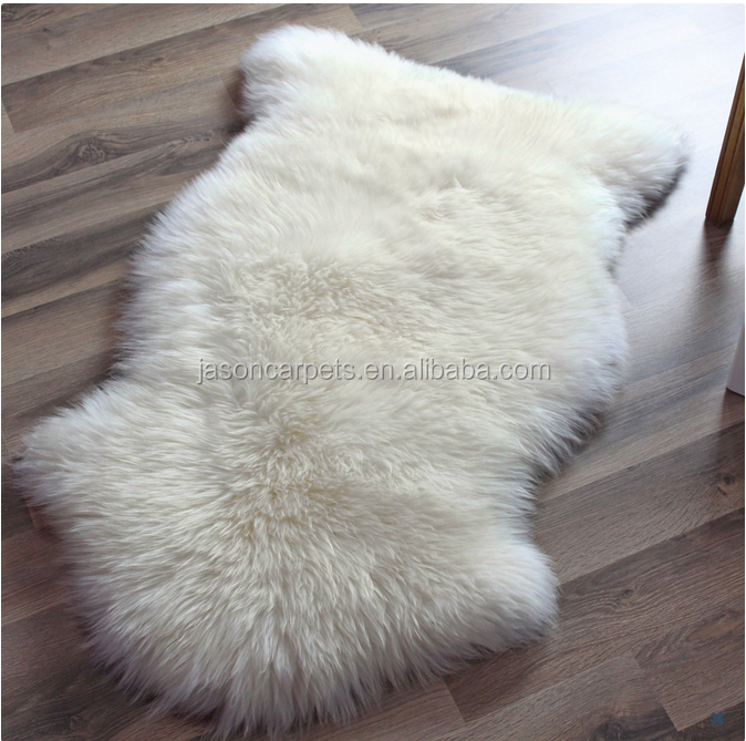 Long Pile faux fur rug/ mat
