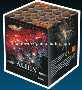 liuyang factory , CE approved Cake fireworks from china