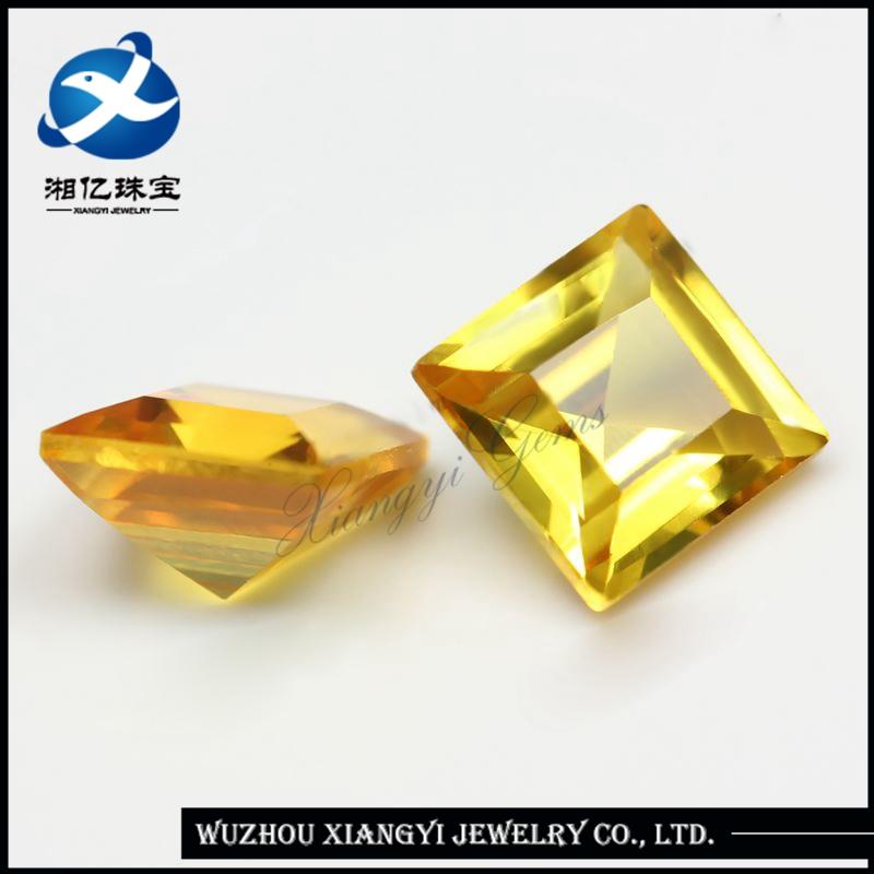 Alibaba Famous Yellow Gemstones Names Synthetic Corundums ! Unique ...