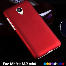 Luxury Original Ultrathin Frosted Matte Plastic Hard Cell Phone Case Cover For Meizu M2 Mini Case Cover 5.0 Shell Back Cover