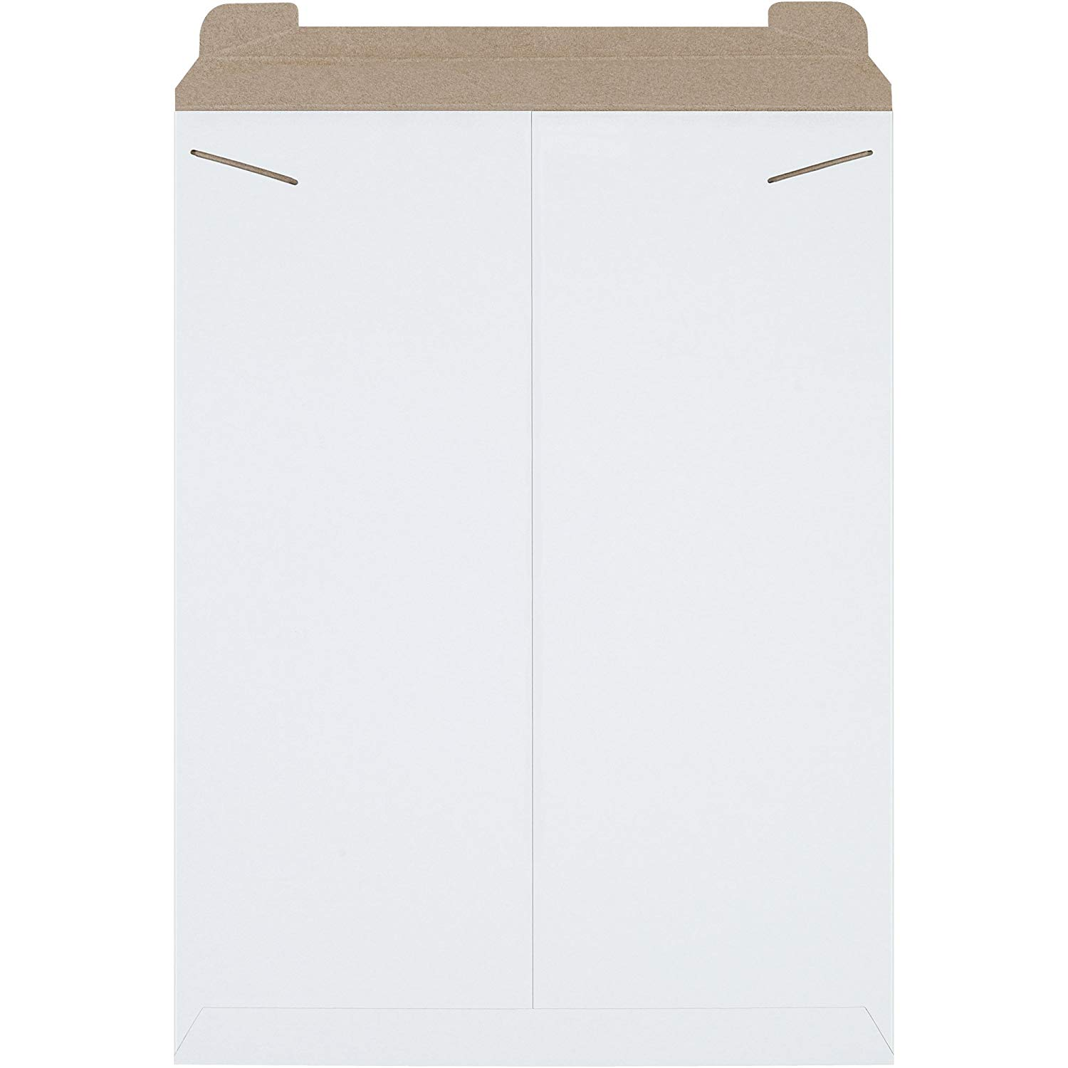 """Boxes Fast BFRM11W Flat Mailers, 18"""" x 24"""", White (Bundle of 50)"""