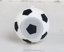 Gift for Sportman soccer ball shape MINI wireless speaker bluetooth portable outdoor speaker