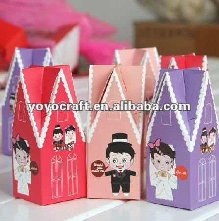 hot sell cardboard customized and OEM available wedding gift boxes in malaysia