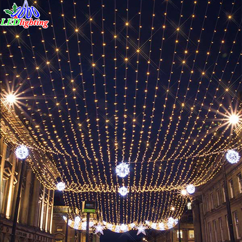 Outdoor Waterproof LED Color Changing Led Christmas Curtain Lights