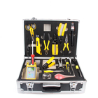 High quality Optical cable FTTH Tool Kit with Optical Power Meter Fiber Optic Cleaver fiber tool box for FTTH FTTB FTTX Network