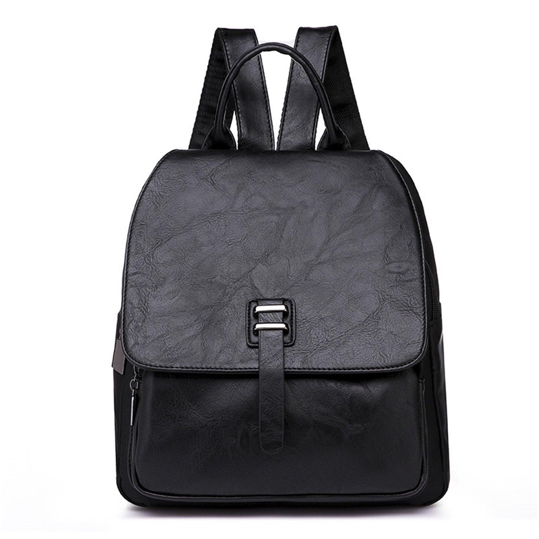Susie Zechariah New Fashion Design Women Backpacks Pu Leather School Bag For Teenage Girls Multifunction Casual Shoulderbag