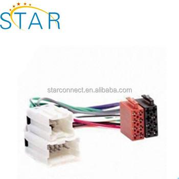 brand car radio wire harness 24 pin male female iso wire harness rh alibaba com
