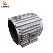 aluminum alloy  sand casting motor frame body parts with cnc machining