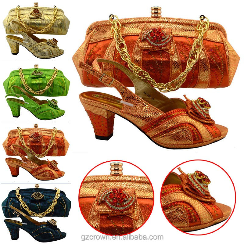 shoes and matching ladies style bags 2017 M16012721 Newest wqxB8tS