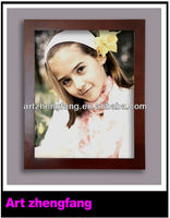 Plain wood painting frames photo picture design