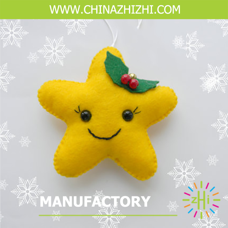 Brand new decoration star shaped christmas ornaments of Higih Quality