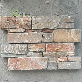 Yellow Wood Slate Decorative Outdoor