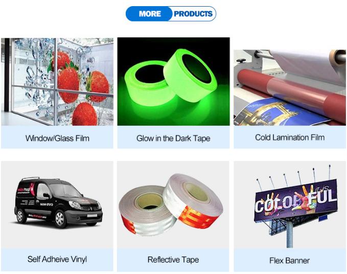 Guangzhou warehouse glossy matte PVC shrink cling film