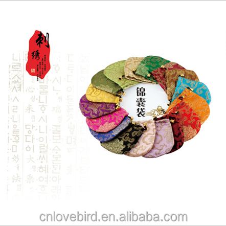 9fdee8318 Envío libre promocional del bordado de seda china barato adivinar bolsas