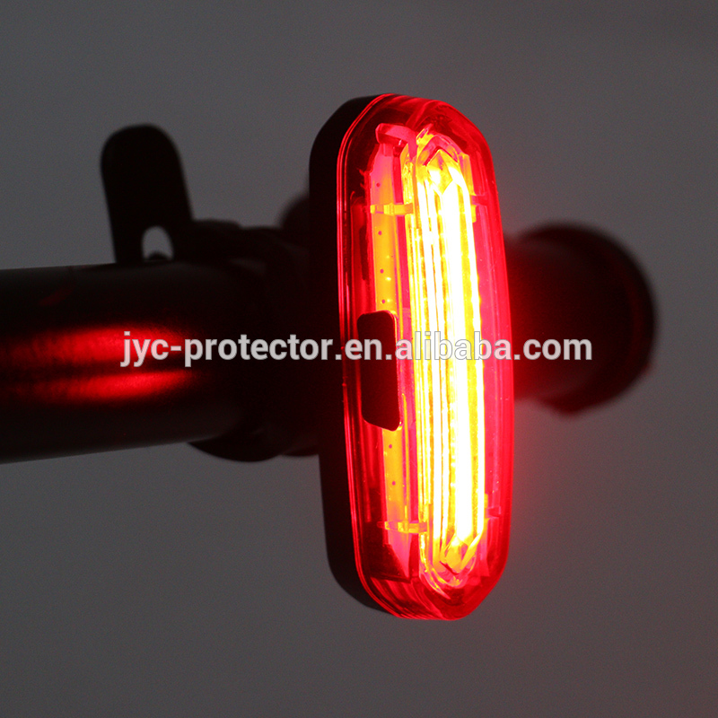 COB Rear Bike light Taillight Safety Warning ,ML-ef USB charge LED Bicycle Spoke Light