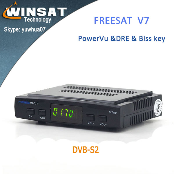 <strong>MPEG4</strong> useful DVB-S2 Freesat V7 Full 1080P <strong>hd</strong> Free to air <strong>satellite</strong> tv <strong>receiver</strong> internet
