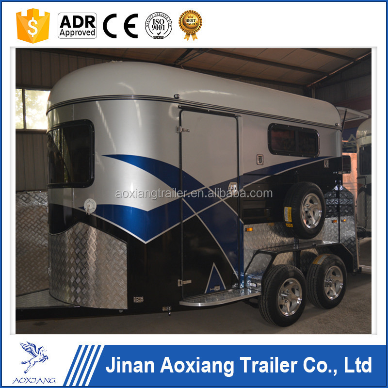 Australian Standard Horse Float Trailer,Straight Load Deluxe Horse Float