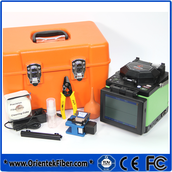 Fiber Optic T40 Fusion Splicer With Calibration Certificate