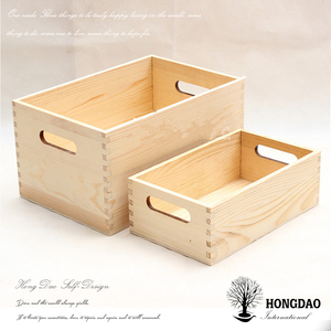 HONGDAO high quality Oysters wooden packaging boxes with custom logo wholesale