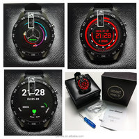 Hot items 2017 new year gift luxury Smart Watch K88 with Phone Call 3G SIM GPS Tiwtter MTK6580 Android 5.1 512MB/4GB