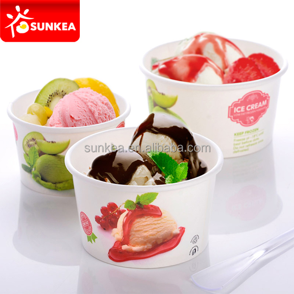 Excellent Ice Cream Bowl,Ice Cream Cup With Paper Lid - Buy Ice Cream Cup  DP25