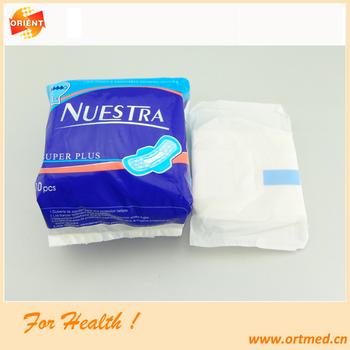 High Quality Sanitary Napkin/sanitary Napkin With Loop/lady Anion ...