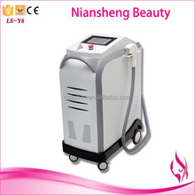 Safe and comfortable facial hair removal machine for women with skin tightening device