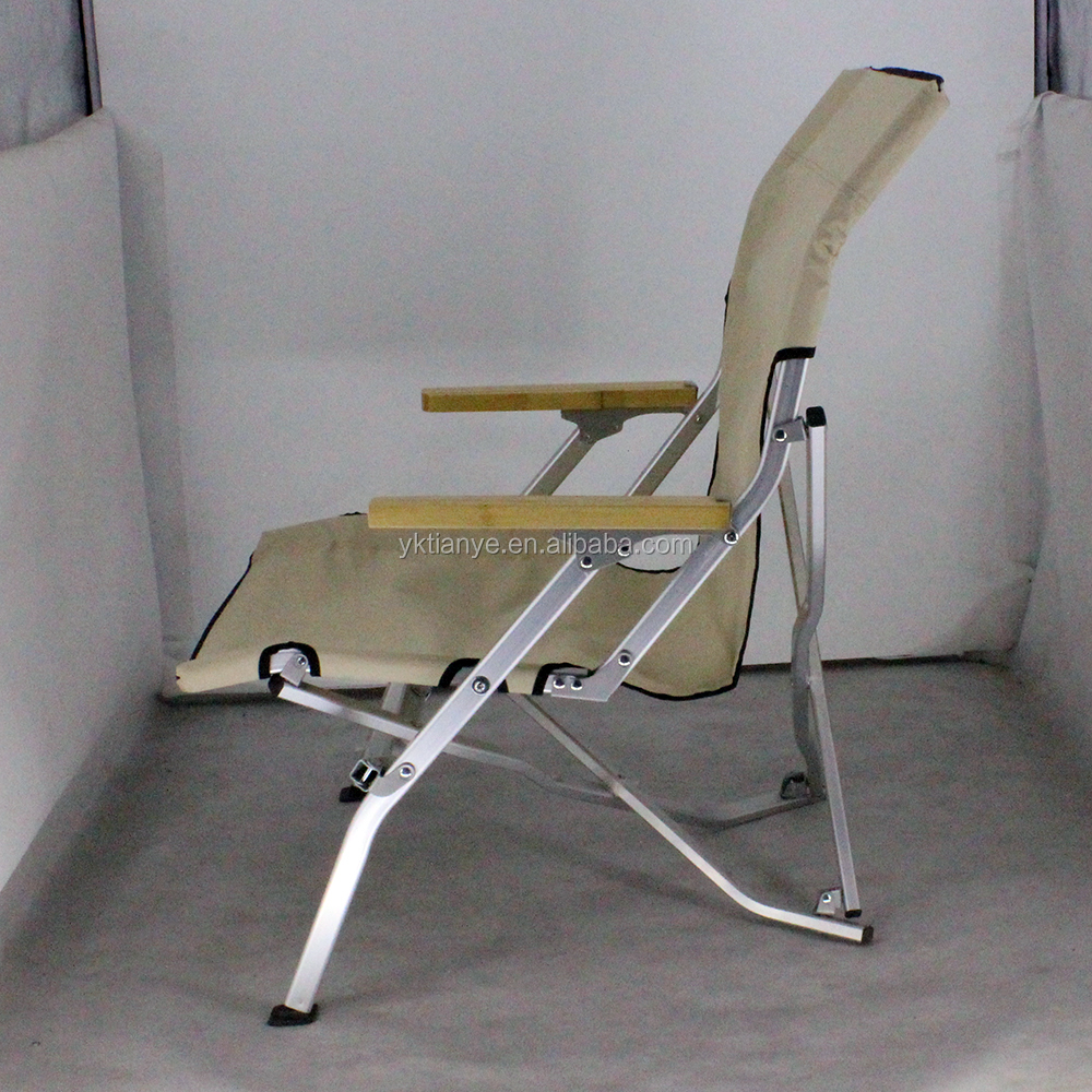 popular outdoor durable aluminum portable sling relax chair