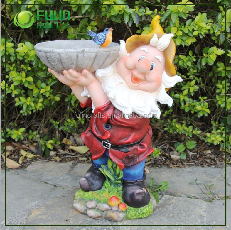 Garden Gnomes On Sale: Funny Handmade Garden Gnome For Sale (nf14111-1)