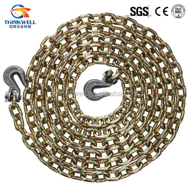 Hot Selling 10 Feet Tow Chain With Hook Cluster and Long J Hook