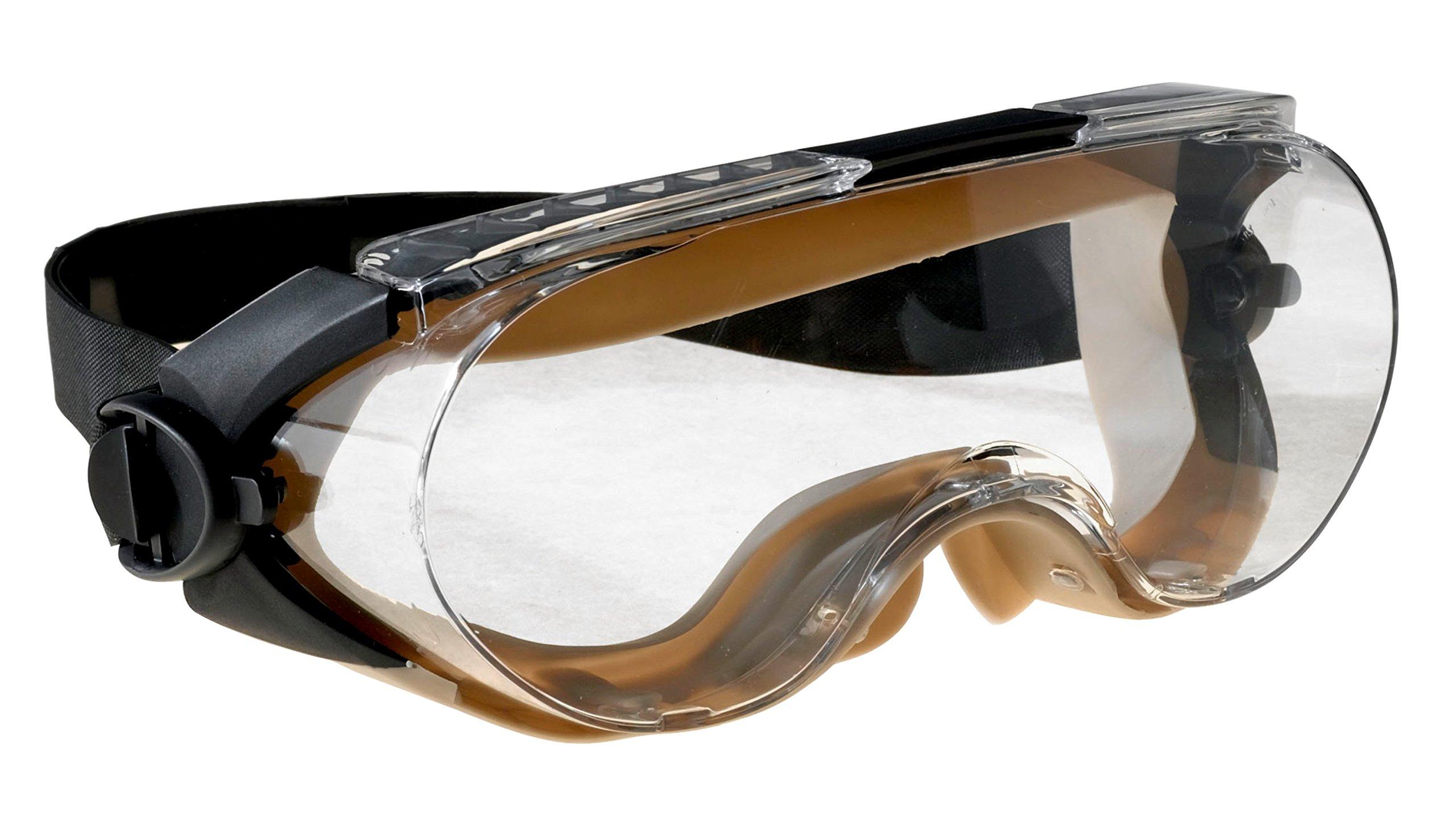 3M Safety 40305-00000-10 454AF Centurion Safety Splash Goggle Clear Anti-Fog Lens Case of 10