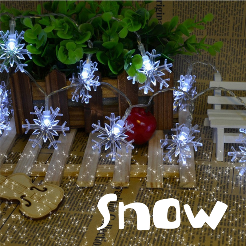 factory price snowflake christmas lights tree lights led outdoor battery 10 meters 100 light. Black Bedroom Furniture Sets. Home Design Ideas