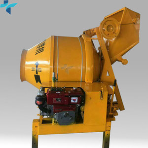 Factory Supply Mobile Type Diesel Concrete Mixer In Mauritius