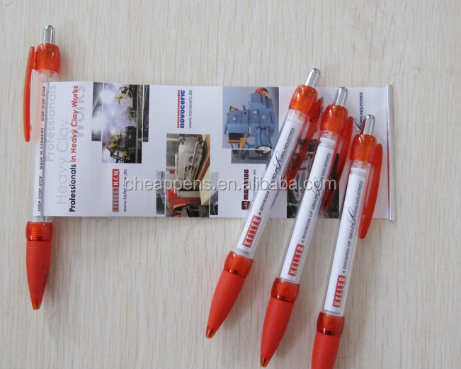 Best Selling Small advertising banner pen with stylus