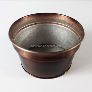 small home iron mounted flower pot dutch pot