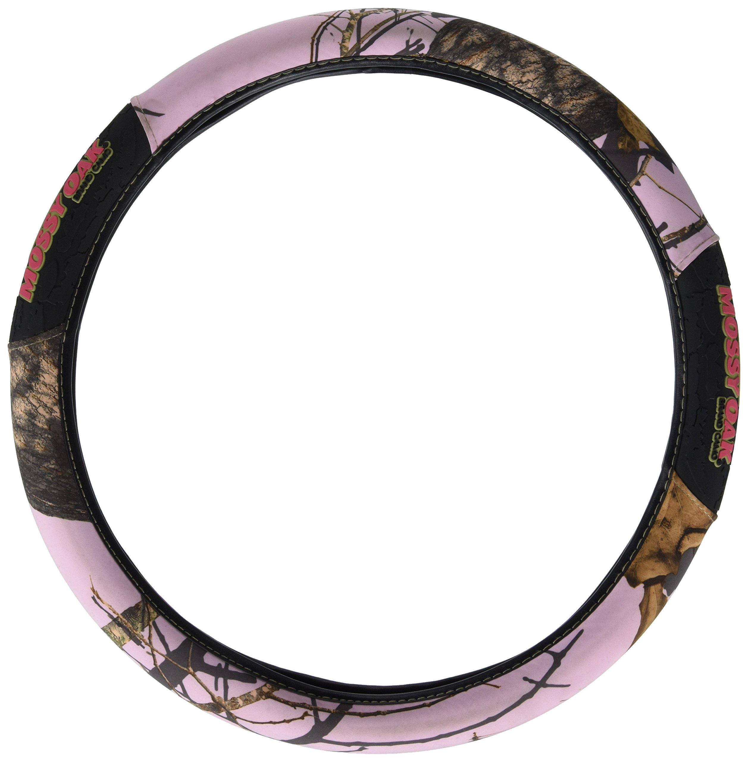 Get Quotations · Mossy Oak Pink Camo Steering Wheel Cover 088b33f2758c