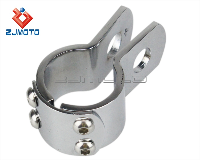 "1.5""(38mm) Clamp-on Footpeg Motorcycle Peg Clamp Vise"