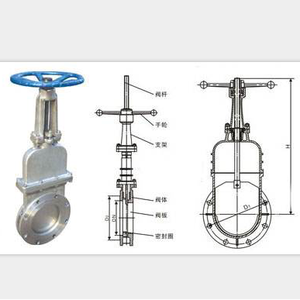 Bolted Bonnet Manual gate valve DN 200 PN40